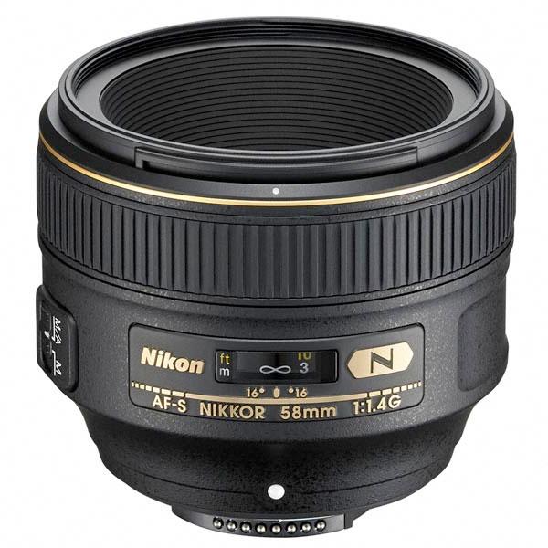 [期間限定特価]ニコン AF-S NIKKOR 58mmF/1.4G [F1.4大口径中望遠レンズ][fs04gm][02P05Nov16]