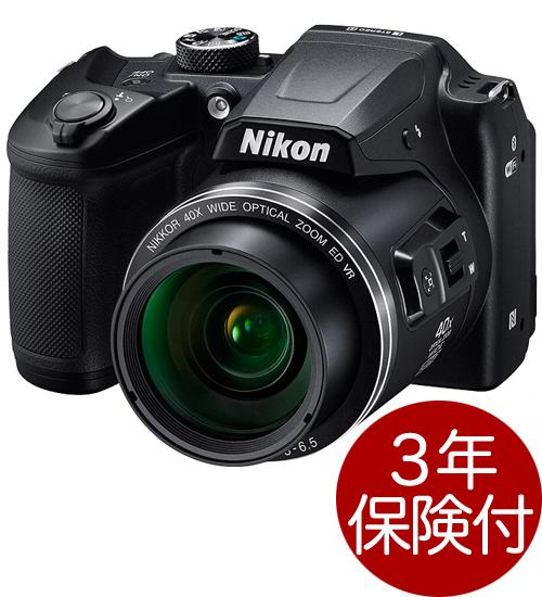 Nikon COOLPIX B500 ブラック デジタルカメラ『即納~2営業日後の発送』光学40倍ズームとチルト式液晶モニター・単3系電池に対応高倍率ネオ一眼タイプデジカメ【smtb-TK】[fs04gm][02P05Nov16]
