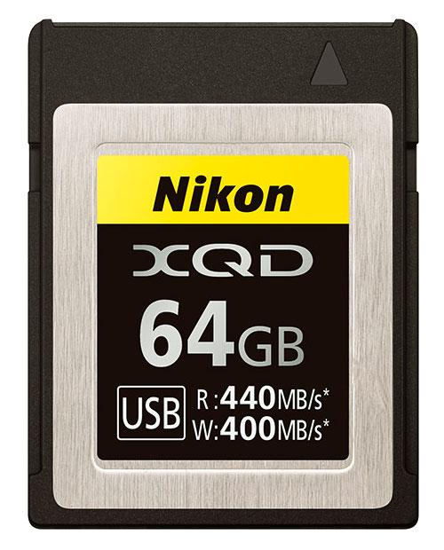 ニコン XQDメモリーカード64GB MC-XQ64G[P23Jan16]