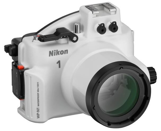 Nikon WP-N1 ウォータープルーフケース『2~3営業日後の発送』[水深40mの水圧にも耐える防水ケース。ニコン1シリーズ対応のウォータープルーフケース。][02P05Nov16]【コンビニ受取対応商品】