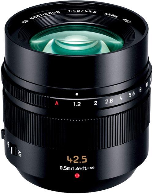 Panasonic LEICA DG NOCTICRON42.5mm/F1.2ASPH./POWER O.I.S.[H-NS043]『即納~2営業日後の発送』レンズ口径67mmにしてF1.2の明るさの85mm相当ノクチクロンポートレートレンズ【smtb-TK】[02P05Nov16]