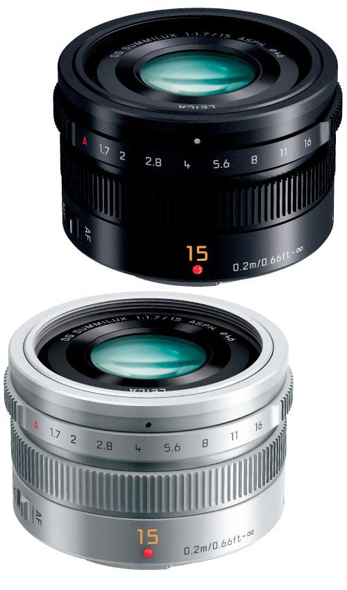 Panasonic LEICA DG SUMMILUX 15mm F1.7 ASPH. H-X015  小型のLUMIXマイクロフォーサーズマウント用単焦点30mm相当F1.7ズミルックスオートフォーカス広角レンズ【smtb-TK】[fs04gm][02P05Nov16]