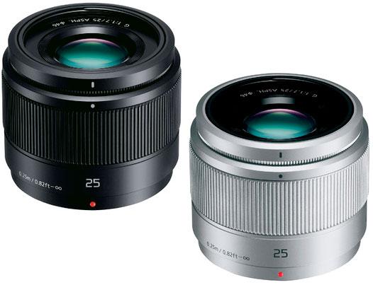 Panasonic LUMIX 25mm/F1.7 ASPH.大口径標準レンズ ブラックH-H025-K/シルバーH-H025-S マイクロフォーサーズシステム用 明るい50mm f/1.7相当単焦点レンズ [02P26Apr14]