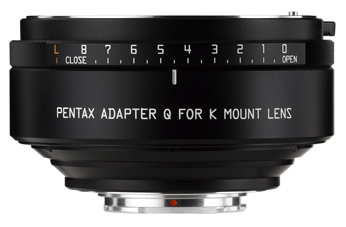 3-5 Business days after shipment appointment PENTAX K-mount lens adapter Q fs3gm