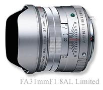 [3年保険付]smc PENTAX FA31mmF1.8AL Silver Limited[fs04gm][02P05Nov16]