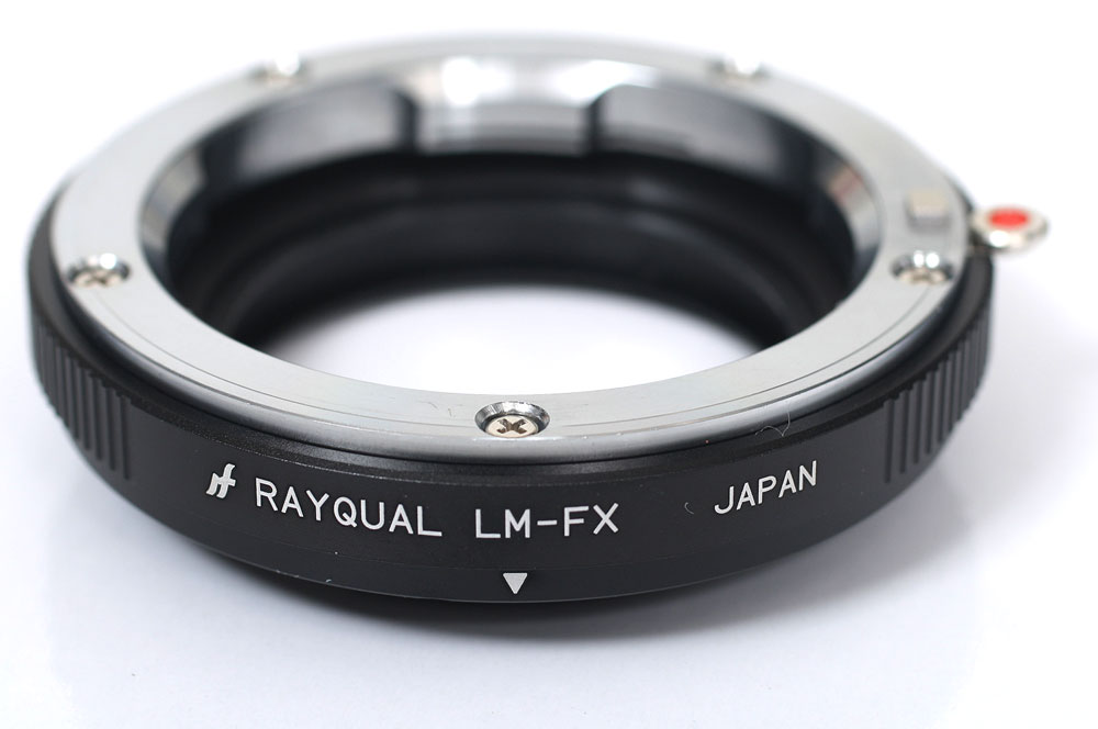 Ray cord Palace manufacturing co , Ltd  LM-FX Leica M Fuji Film X mount  adapter