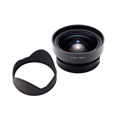 RICOH wide conversion lens GW-3 magnification: 0.75 x in 1-3 business days after shipment appointment