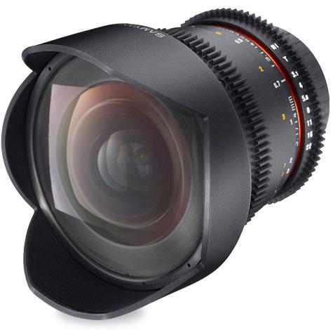 SAMYANG 14mm T3.1 VDSLR ED AS IF UMC for Nikonニコンマウント『1~3営業後の発送』シネマ用絞り機能搭載非球面レンズAspherical採用スーパーワイドレンズ[fs04gm][02P05Nov16]