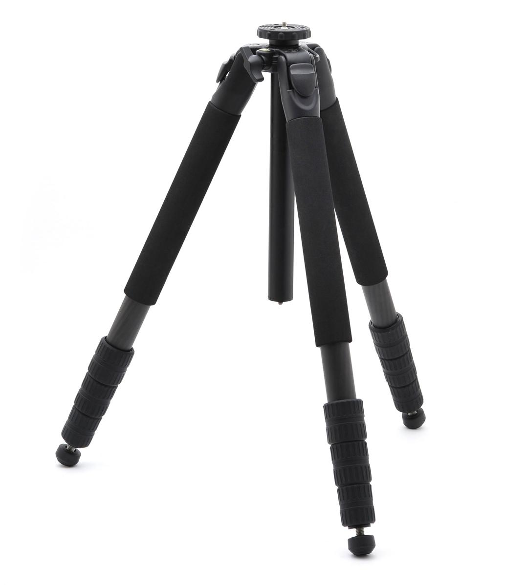 SLIK SCシリーズ SC 704 カーボン(脚のみ) 大型モデル4段三脚『1~3営業日後の発送予定』操作部を大きく快適操作「SCシリーズ」で大型タイプのカーボン4段三脚!パイプ径32mm4段で300mmF2.8など大口径超望遠レンズに対応【smtb-TK】[fs04gm][P19Jul15]