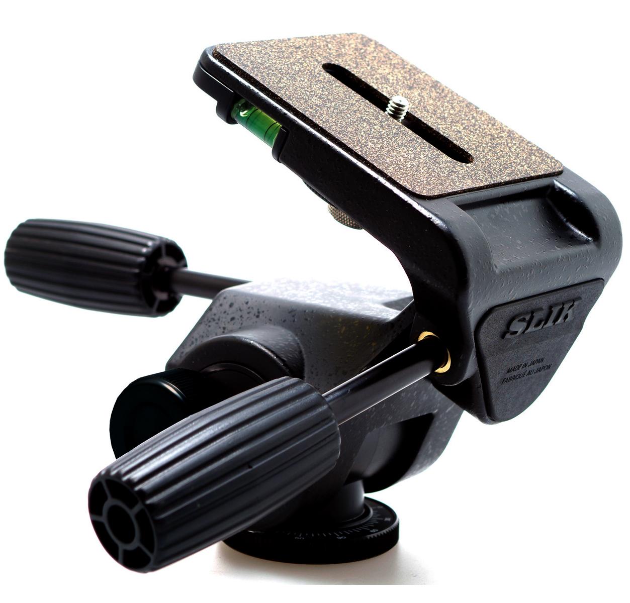 SLIK SH-909 プロ仕様雲台『1~3営業日後の発送』[大型三脚にフィットする、最大・超大型3Wayプロ仕様雲台。超望遠レンズや大中判カメラなどの重量機材をしっかりと支える雲台。]【smtb-TK】[fs04gm][02P05Nov16]