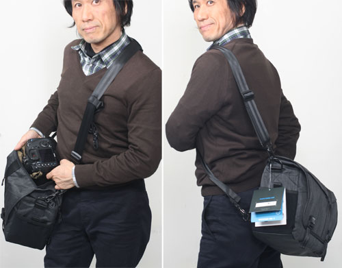 """Camera bag [02P24Feb14] where standard zoom intermediate one eye double zoom and flash bulb degree storing including 638-371 テンバ DNA11 messenger camera bag """"shipment 70-200mmF2.8 lenses after the 2~3 business day"""" belonging to are possible"""
