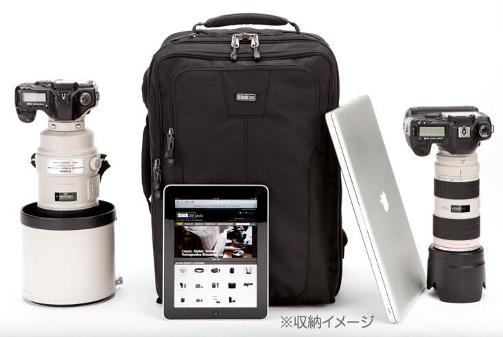 "thinkTANKphoto 机场加速器临单反穿""1 至 3 个工作日交付后的将""智囊团照片机场加速器和 500mmF4 超级长焦镜头,可以存储在一个相对较大的背包相机袋 [fs04gm] [02P24Oct15]"
