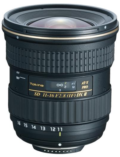 [3年保険付]トキナ AT-X116 PROII DX 11~16mmF2.8『即納~3営業日後の発送』レンズ内モーター搭載APS-Cデジタル一眼レフ専用大口径広角ズームレンズ[fs04gm][02P05Nov16]