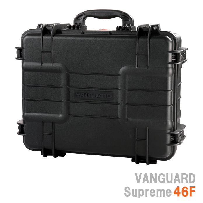 VANGUARD シュプリーム46F 防水ハードケース『2~3営業日後の発送』[最大で120kgの重さに耐えられる強度と優れた耐久性、水深5mまで耐える事のできる防水性と機密性を備えたハードケース。アウトドアに機材を持ち運ぶ際に活躍するケース。]【smtb-TK】[02P24Jan13]