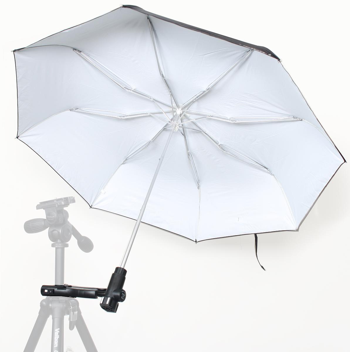 当店限定 予約販売 ポイント2倍 40%OFFの激安セール 在庫処分特価 Velbon UC-6アンブレラセット 02P05Nov16 送料無料 フラッシュ用アンブレラ 撮影時のカメラ用の傘