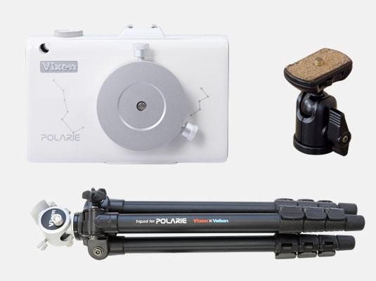 当店限定 ポイント2倍 Vixen 星空雲台ポラリエ WT 送料無料 日周運動に合わせて動くモーター駆動式のカメラ雲台 セール 在庫一掃 02P05Nov16 お持ちのカメラを載せれば 星の動きに合わせて撮影が可能