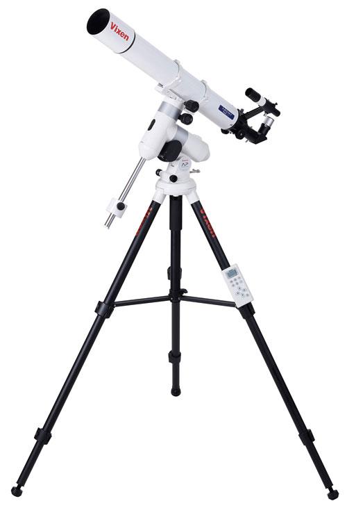 Vixen AP-A80Mf・SM AP赤道儀付き80mm屈折天体望遠鏡『1~3営業日後の発送』月面から惑星まで 8cm望遠鏡と追尾モーター + StarBook One付きAP-SM赤道儀セットNo.39977-2[fs04gm][02P05Nov16]