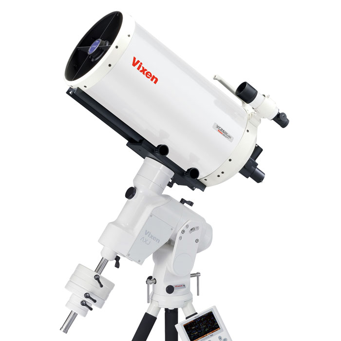 Vixen 天体望遠鏡 AXJ-VMC260L(WT) 3000mm長焦点大口径屈折・反射式VMC260mm望遠鏡赤道儀セットNo.36957-7 [02P05Nov16]
