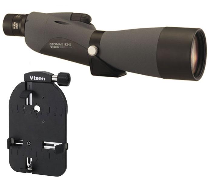 Vixen ジオマII 82S(ストレート:直視型) スマートフォンデジスコセット[02P05Nov16]