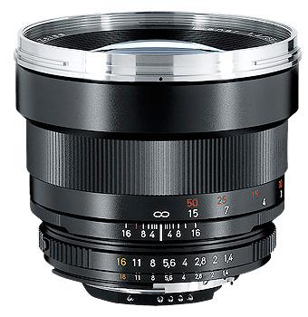 [在庫処分特価]CarlZeiss Planar T*1.4/85 ZF.2 [85mm F1.4 CPU内蔵Nikon Fマウント] 4530076822887[fs04gm][02P05Nov16]