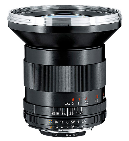 "Wide-angle lens D studio Gon lens fs3gm for mount Nikon single-lens reflex cameras with a built-in CarlZeiss DistagonT*F2.8/21mmZF.2 ""appointed date of delivery undecided reservation"" CPU"