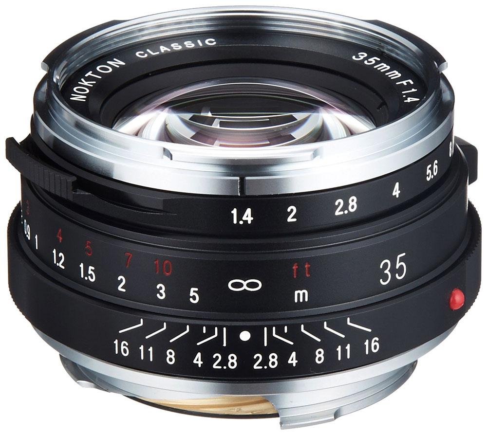 [3年保険付]Voigtlander NOKTON classic 35mm F1.4シングルコート[VMマウント]あえて昔のレンズの味を残したノクトンクラシック35ミリ[02P05Nov16]