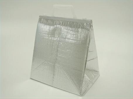 【送料無料】保冷袋 角底タイプ トッテ付-L (50枚) 24.5cm×19cm×26.5cm