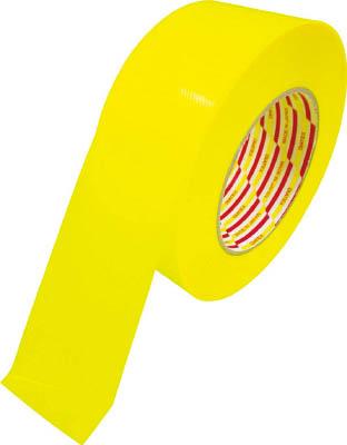 ダイヤテックス パイオラン ラインテープ 50X50M 黄 1ケース10個入り