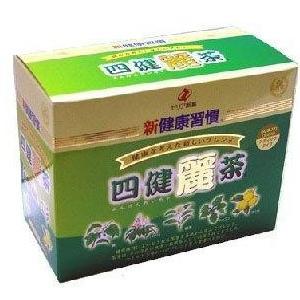 新健康習慣 四健麗茶 60袋 4個 ゼリア新薬