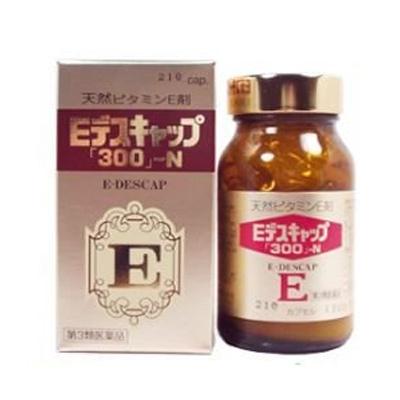 Eデスキャップ 300 -N 人気海外一番 210カプセル 3個 日新製薬 ◆在庫限り◆ 第3類医薬品