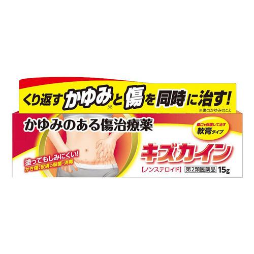 【第2類医薬品】キズカイン 15g 10個 丹平製薬