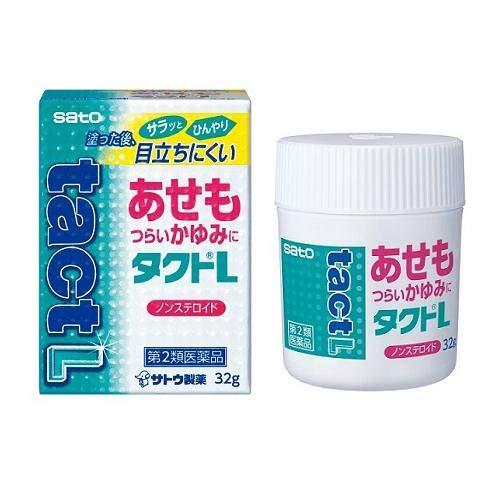 メーカー再生品 新色 タクトL 32g 第2類医薬品 佐藤製薬 2個
