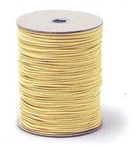 ケブラーひも 黄厚み 2.5mm 200m巻