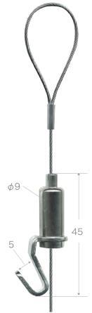 (シルバー) メーカー 福井金属工芸 セット.C型ピクチャーレールセット2m ピクチャーレール