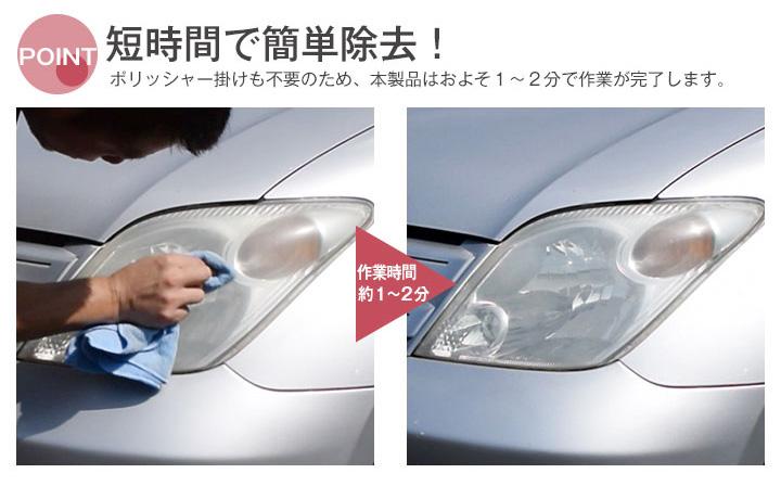 Auto World One Piece Of Headlight Yellowing Headlight Cleaner 100