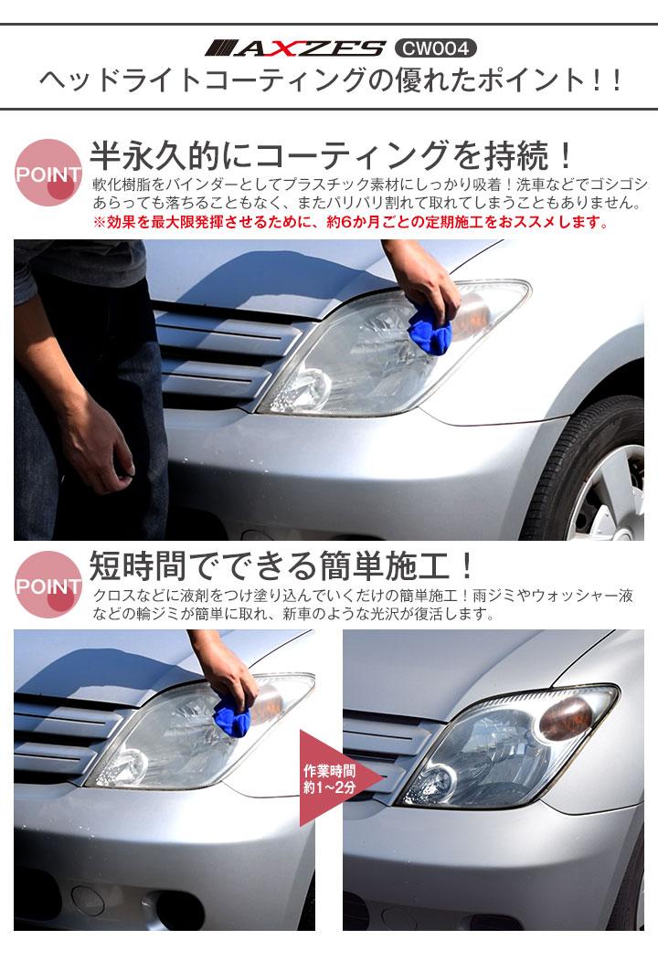 Auto World Curable Coatings Headlight Cw004 100 Ml Regain Its