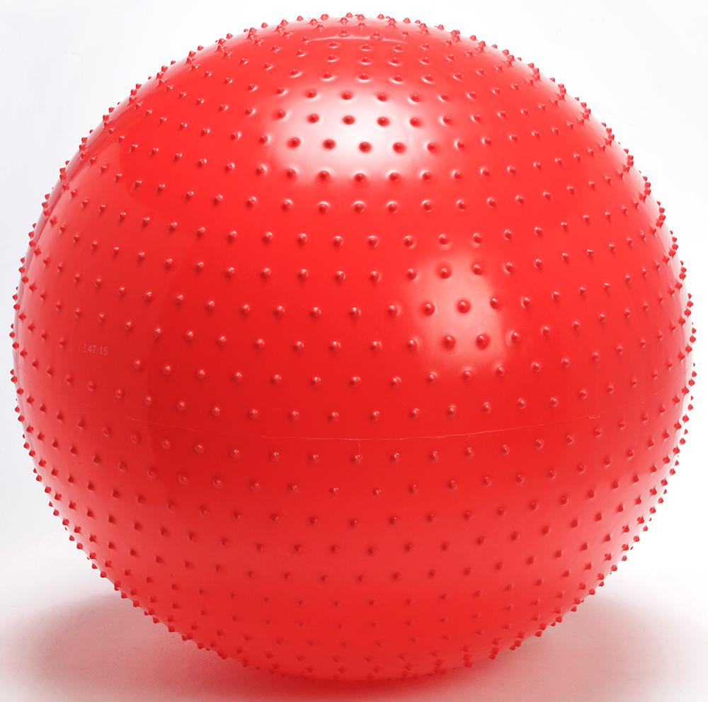 【予約受注商品】ギムニク触覚ボール100cm【バランスボール触覚ボール100】赤、ギムニクボール