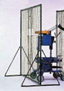 (メーカー直送)マシン前用フェンス【野球用ネット・フレームセット 】【銀行前払いまたはクレジット払い扱い・別途送料商品】