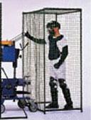 (メーカー直送)ピッチングマシン用防御フェンス【野球用ネット・フレームセット】【銀行前払いまたはクレジット払い扱い・別途送料商品】