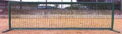 (メーカー直送)野球用ネット【防球フェンス(0.4mx2m)】野球ネット・フレームセット【銀行前払いまたはクレジット払い扱い・別途送料商品】