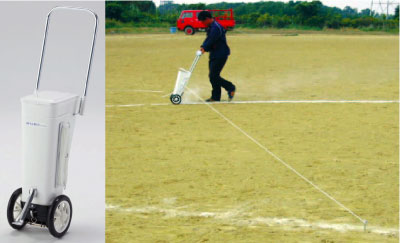 ライン引き.サッカー用ライン引きDX(メーカー直送)【銀行前払いまたはクレジット払い扱い】