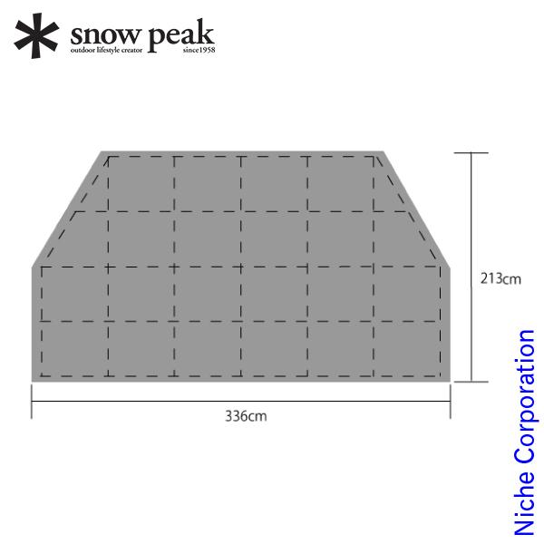 スノーピーク モーグ Pro.air インナーマット TM-600 テント用品 アウトドア用品 キャンプ用品