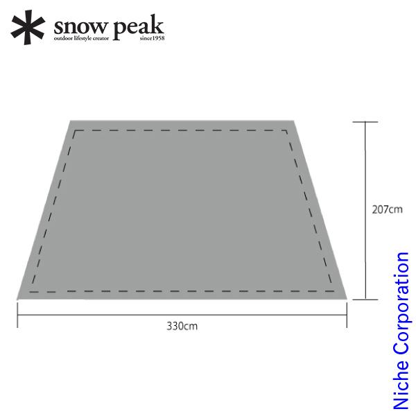 スノーピーク モーグ Pro.air グランドシート TP-600-1 テント用品 アウトドア用品 キャンプ用品