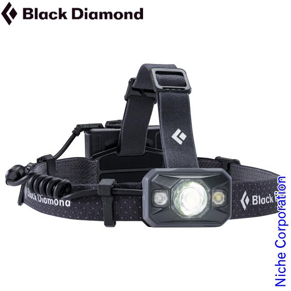ブラックダイヤモンド アイコン (ブラック) キャンプ用品 ヘッドライト BD81071