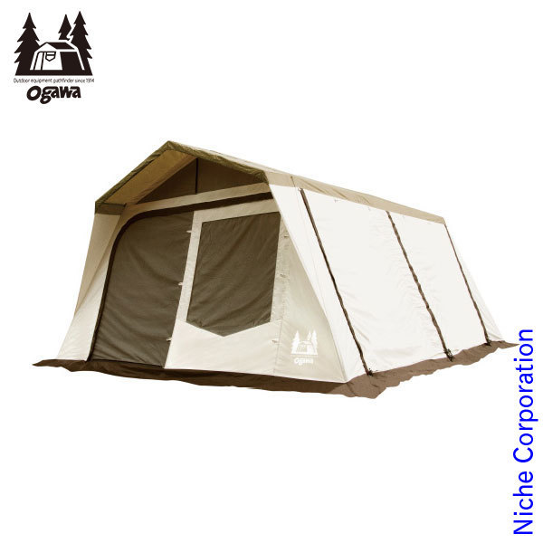 キャンパル ロッジシェルターT/C 3375 小川 ogawa オガワ キャンプ用品
