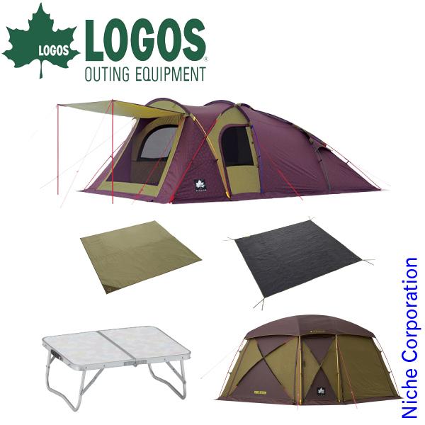 ロゴス リンクベースドーム&スクリーンセット SET-201811A キャンプ用品