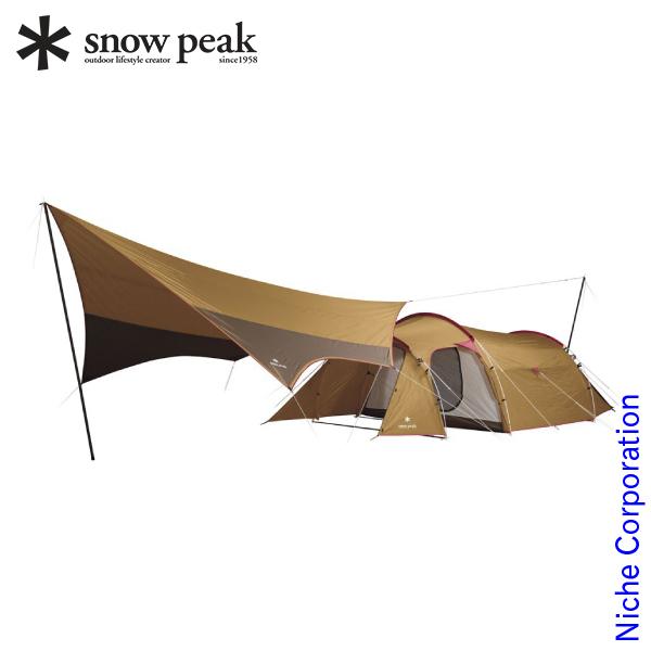 【最大1,000円OFFクーポン配信中】スノーピーク エントリーパックTT SET-250H キャンプ用品 テント タープ 冬キャンプ