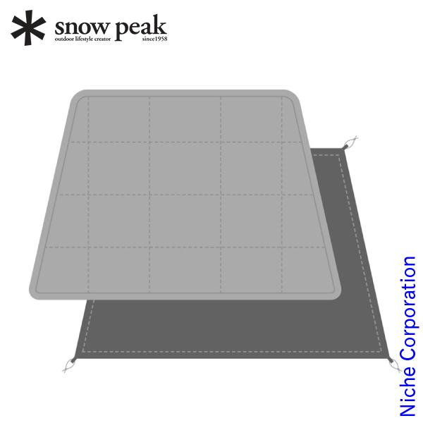 スノーピーク エルフィールド マットシートセット テント タープ TP-880-1 キャンプ用品