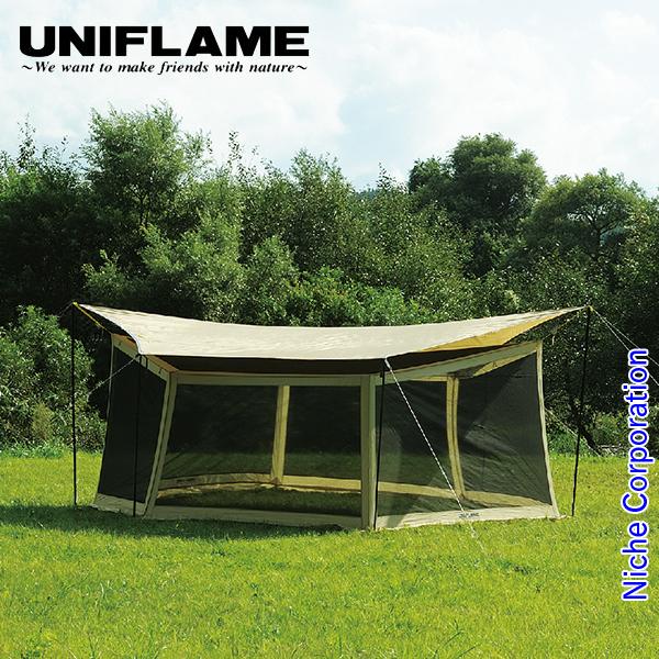 ユニフレーム REVOメッシュウォール 600 681770 キャンプ用品