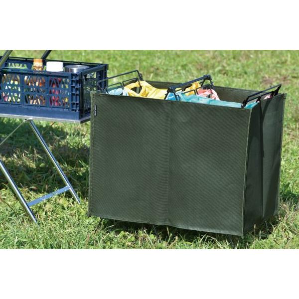 ユニフレーム ダストスタンドカバー カーキグリーン 611876 キャンプ用品